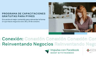 Facebook y aliados lanzan talleres para negocios en Latinoamérica
